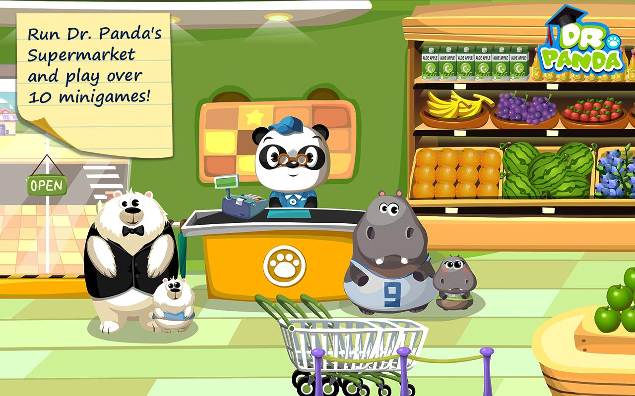 Dr. Panda Supermarket screenshot 2