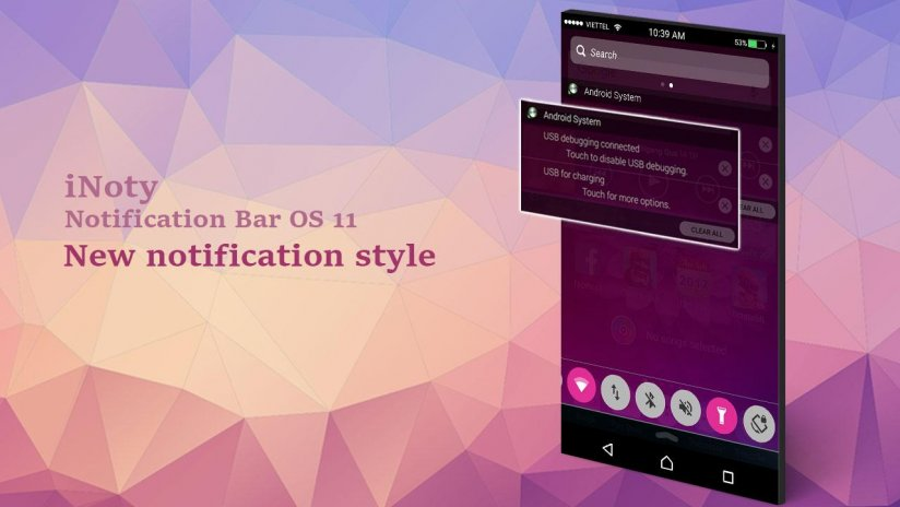 iNoty : Notification bar OS 11 1 4 5 44 Download APK for