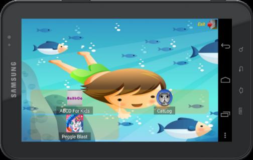Child Lock Launcher screenshot 1