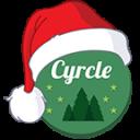 Xmas Cyrcle Icons Apex Nova