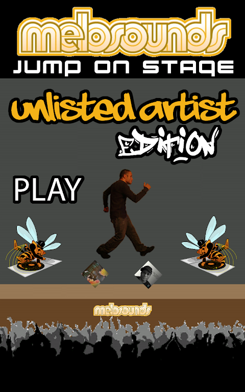 Jump on Stage Unlisted Artist screenshot 1