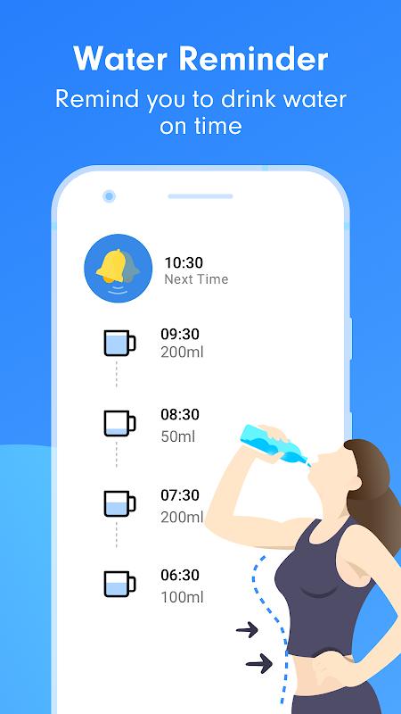 Drink Water Reminder:Weight Loss Helper screenshot 1