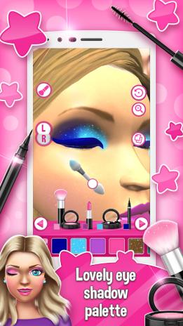 ... princess makeup salon games 3d screenshot 2 ...