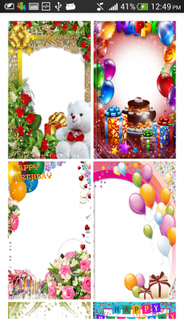 Birthday Photo Frames - HD 1.0 Download APK for Android - Aptoide