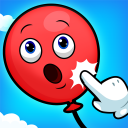 Baby Balloon Pop 🎈 Ads Free kids Learning Games