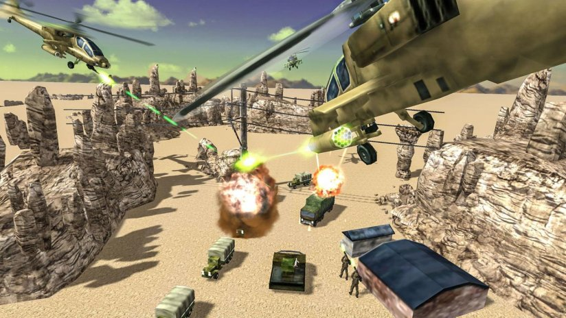 🚁 Gunship Helicopter Strike 🚁 3D Battle Chaos 3 7 Download