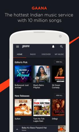 Gaana Music- Hindi English Telugu MP3 Songs Online 8 0 9