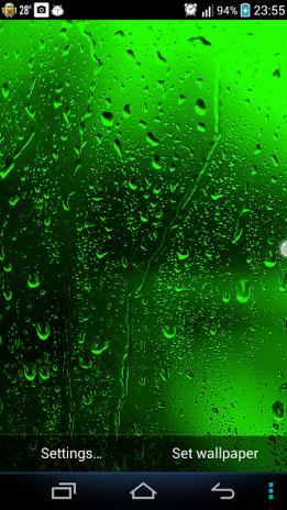 Raindrops Live Wallpaper Screenshot 4