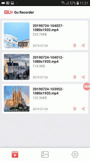 GU Screen Recorder with Sound, Clear Screenshot screenshot 7