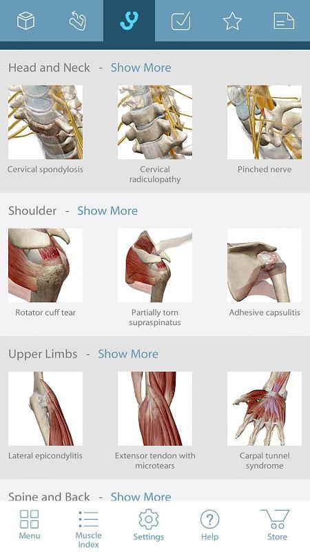 Muscle Premium - 3D Guide screenshot 2