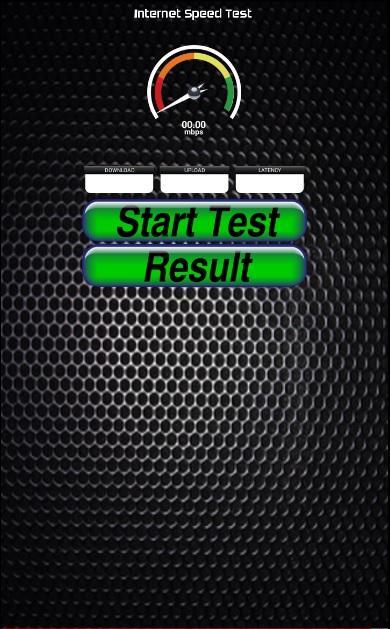 testa internet speed