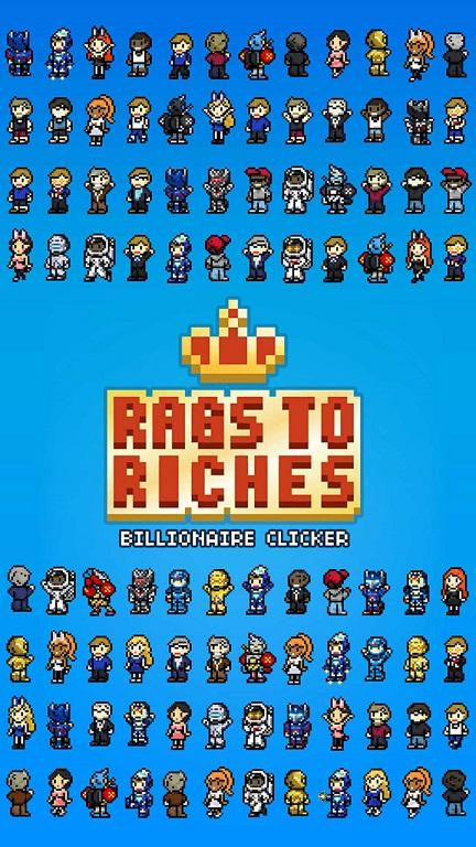 Rags to Riches : Billionaire Clicker screenshot 2