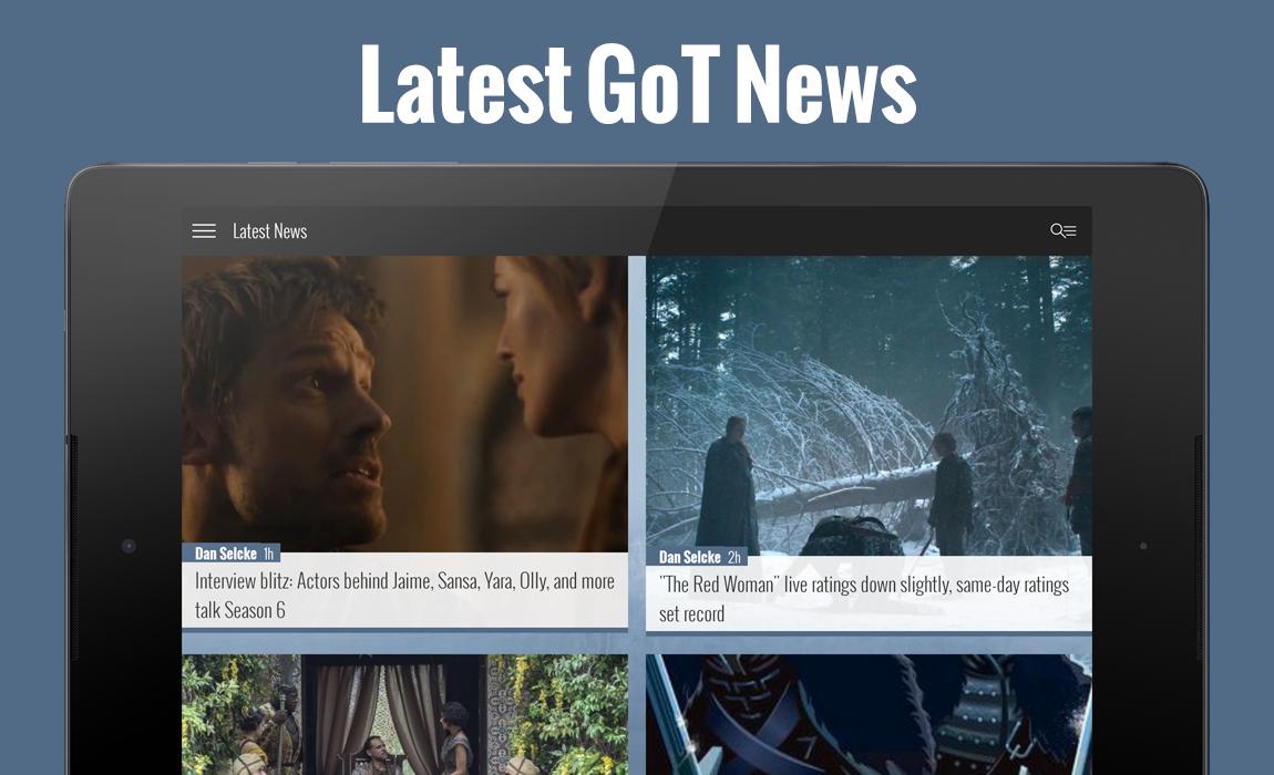 Winter is Coming - GoT News screenshot 2