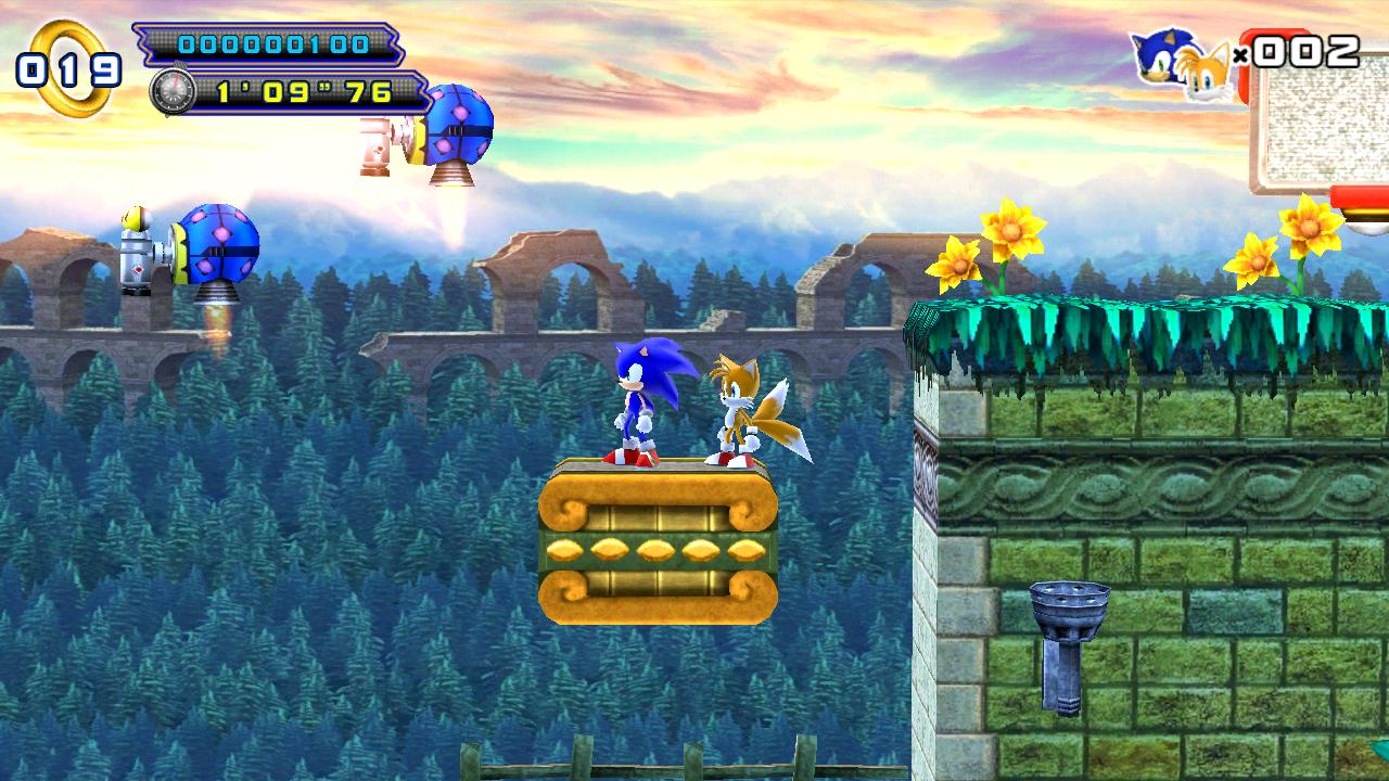 Sonic 4 Episode II THD screenshot 1