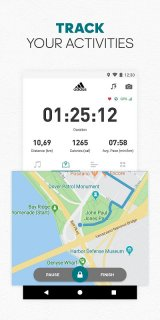 adidas Running by Runtastic - Fitness Run Tracker screenshot 3