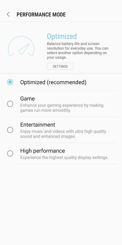 Device Maintenance screenshot 2