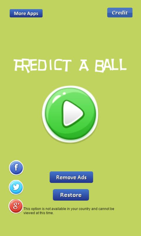 Predict Directional of Ball screenshot 2