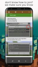 Servers List for Minecraft PE 1 8 1 Download APK for Android