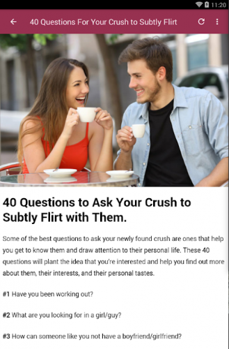 A questions crush ask to 120+ Extremely
