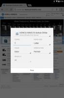 Konica Minolta Print Service Screen