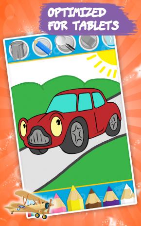 Boyama Kitabı çocuk Arabalar 161 Android Aptoide Için Apk Indir
