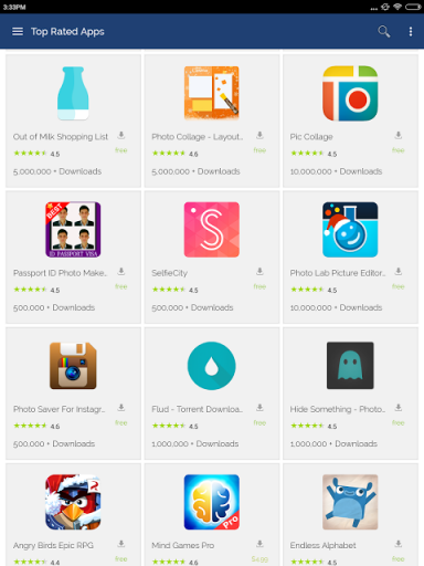 top rated android apps