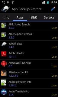 App Backup & Restore screenshot 2