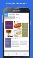 Samsung Print Service Plugin Screen