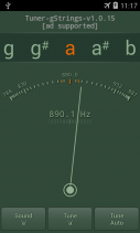 Tuner - gStrings Free Screenshot