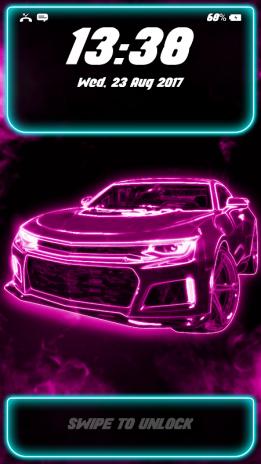Neon Car Lock Screen Wallpaper 11 Download Apk For Android