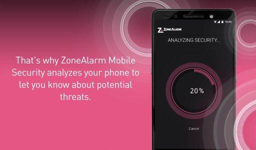 ZoneAlarm Mobile Security screenshot 12