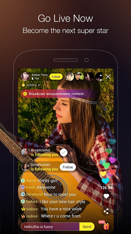 HiClub Live: Live Video Stream & Social Video Chat screenshot 2