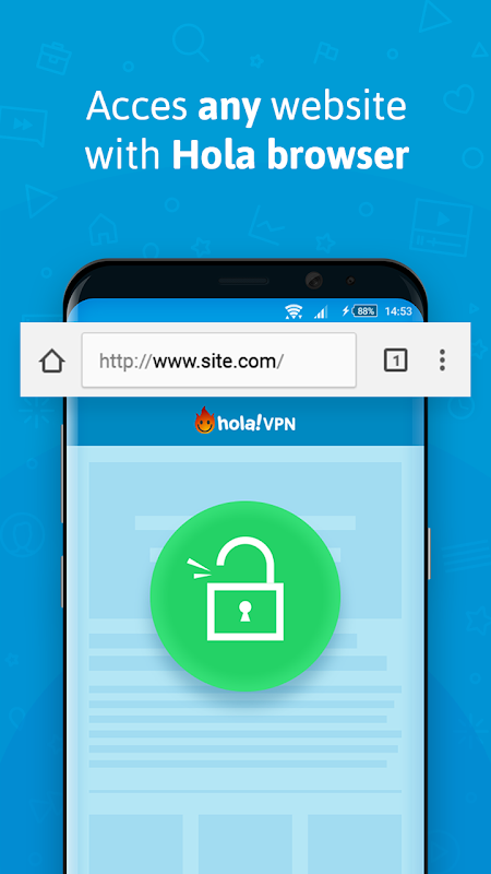 VPN - Hola Free VPN screenshot 2