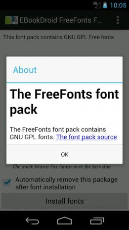 EBookDroid FreeFonts FontPack 1 0 Download APK for Android - Aptoide