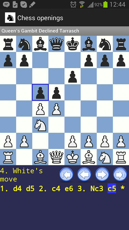 chess openings android