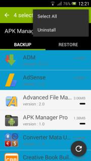 APK Manager Pro screenshot 1