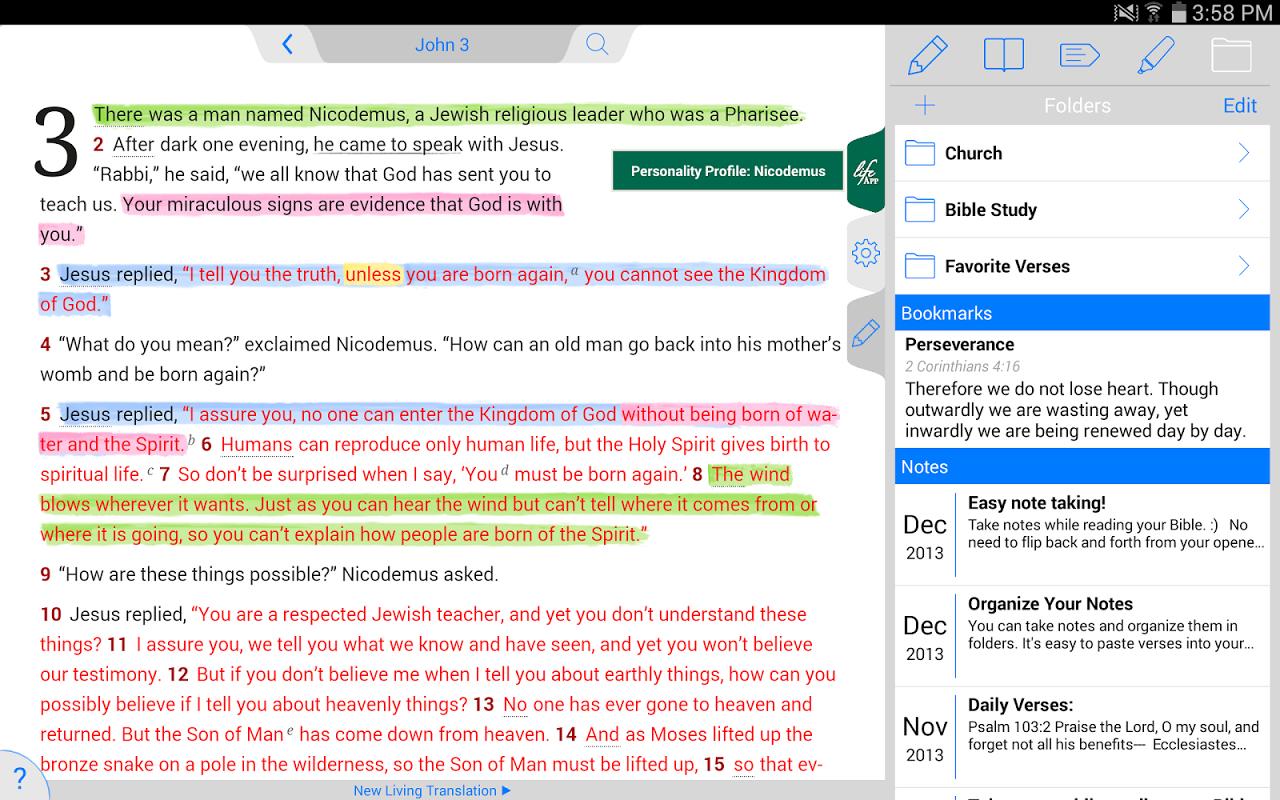 Life Application Study Bible screenshot 2