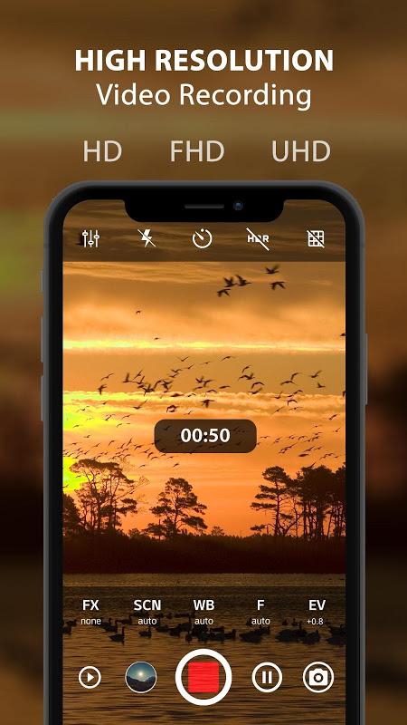 HD Câmera Pro : Best Professional Camera App screenshot 2