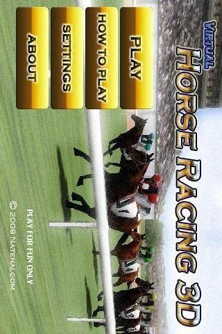 Virtual Horse Racing 3D screenshot 1