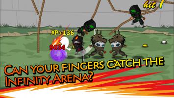 Ninjas Infinity Screen