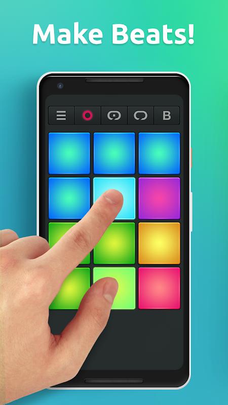 Drum Pad Machine - Make Beats screenshot 1