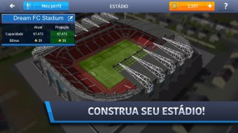 Captura de ecrã Dream League Soccer 2017