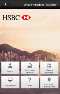 HSBC Mobile Banking screenshot 1