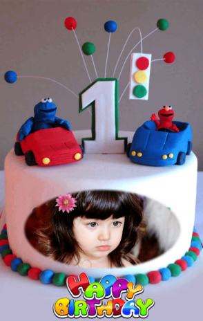 Birthday Cake Photo Frames Screenshot 4