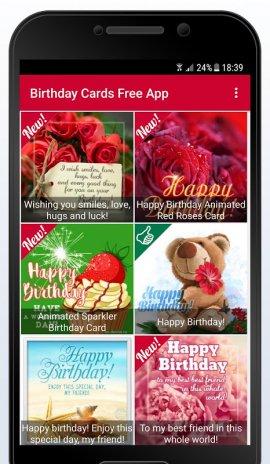 Birthday Cards Free App Screenshot 5