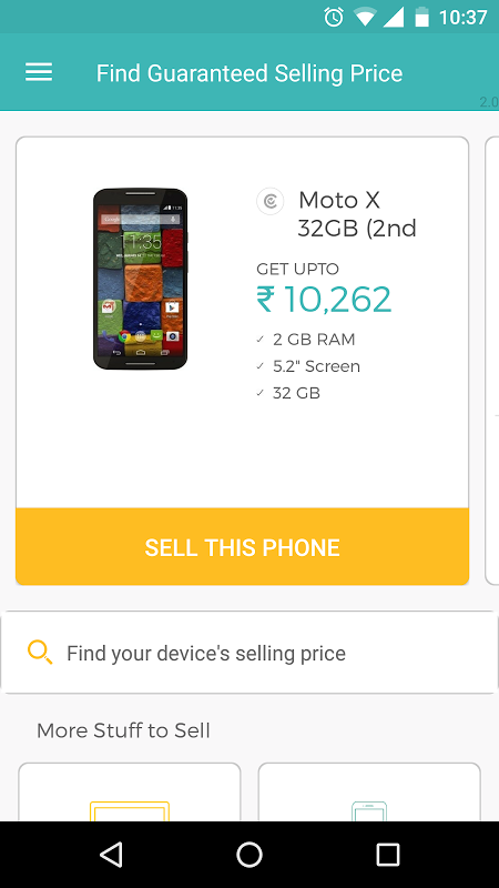 Cashify - Sell Old & Used Mobile Phones Online screenshot 2