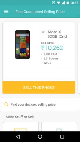 9584e8c344c Cashify - Sell Old   Used Mobile Phones Online 3.2.13 ดาวน์โหลด APK ...