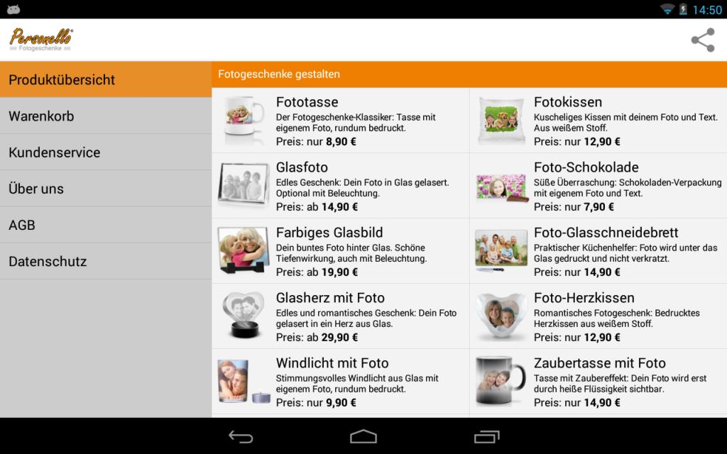 geschenke mit foto gestalten download apk for android. Black Bedroom Furniture Sets. Home Design Ideas