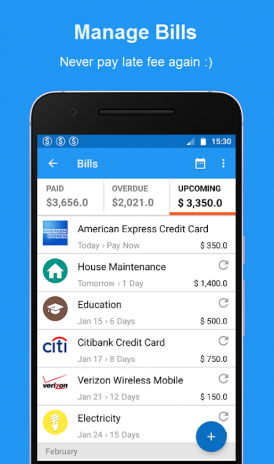 Bills Reminder, Payments & Expense Manager App 1 6 2 Download APK