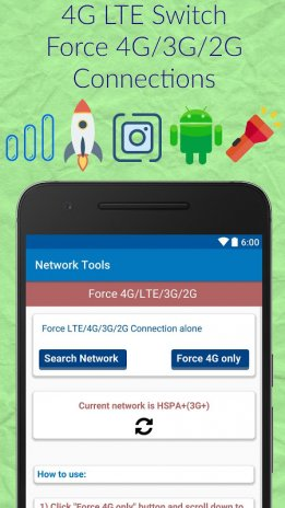 4G LTE only mode-Network Tools 16 0 Download APK for Android